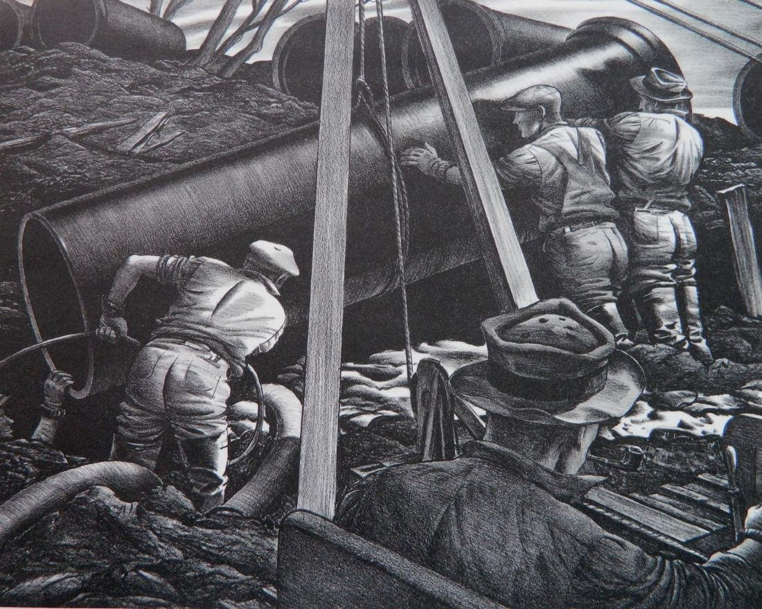 Edward A. Wilson 2 lithographs - 2