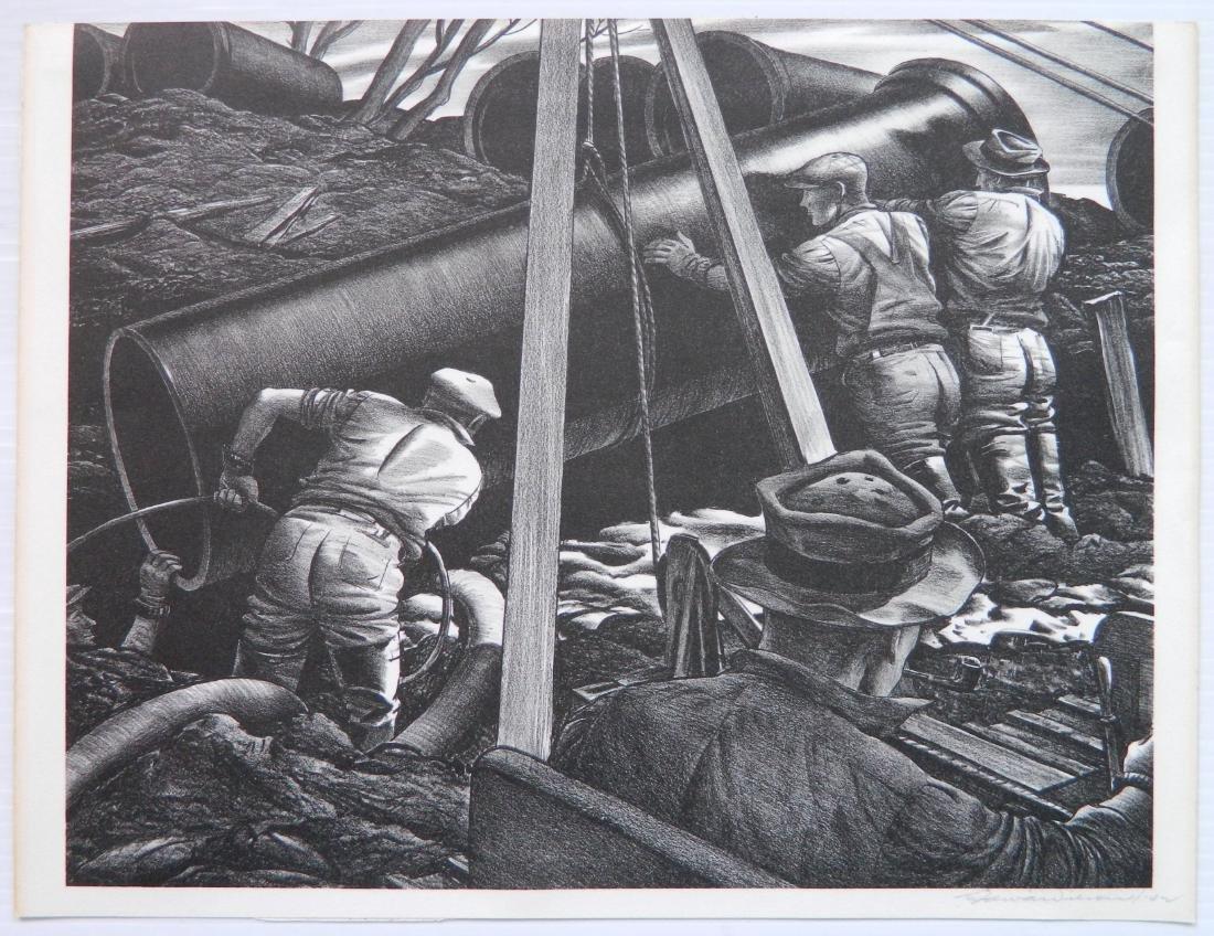 Edward A. Wilson 2 lithographs - 3