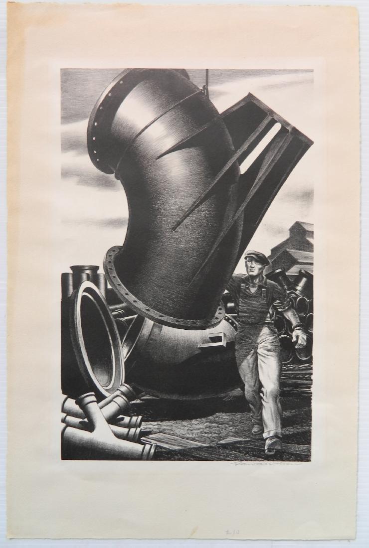 Edward A. Wilson 2 lithographs - 7