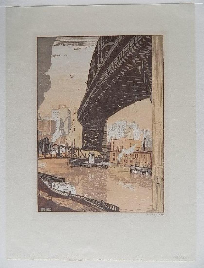 Rudolph Ruzicka wood engraving - 2