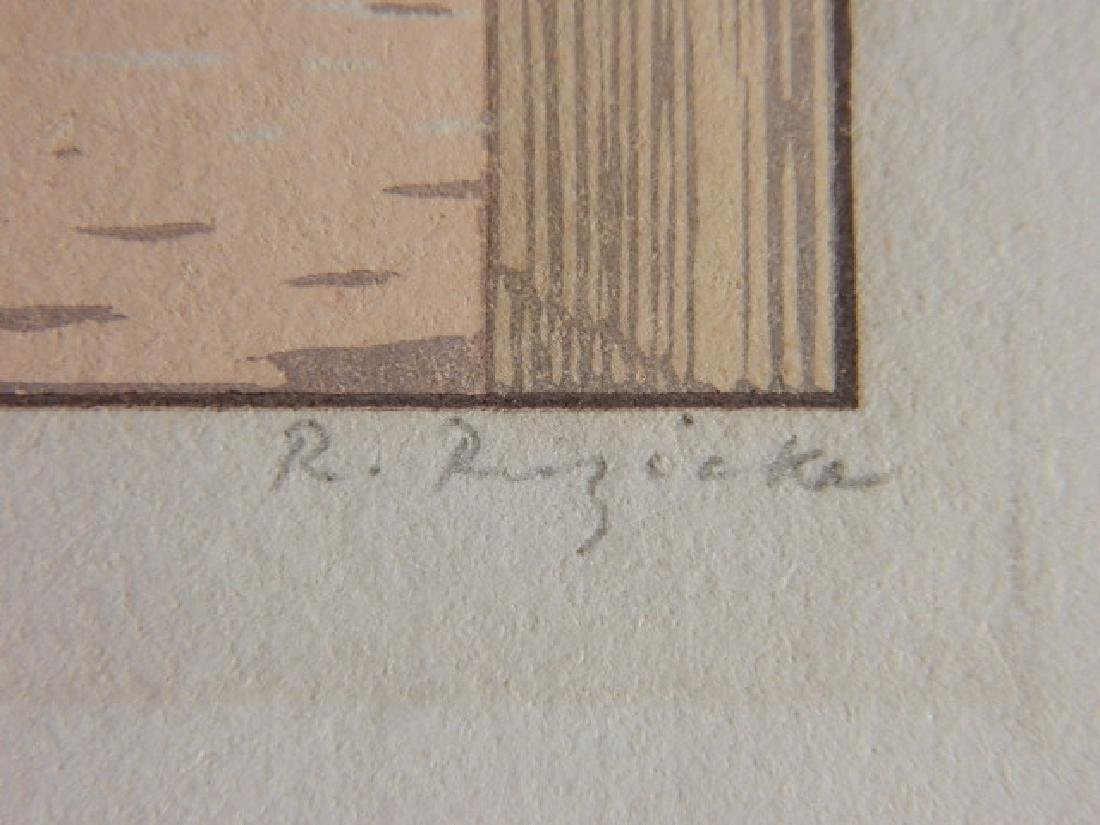 Rudolph Ruzicka wood engraving - 3