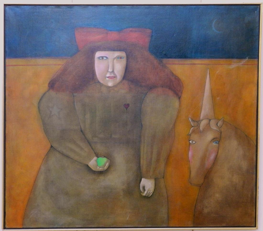 Mary Spain oil - 2