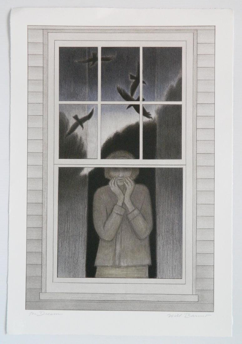 Will Barnet lithograph - 2