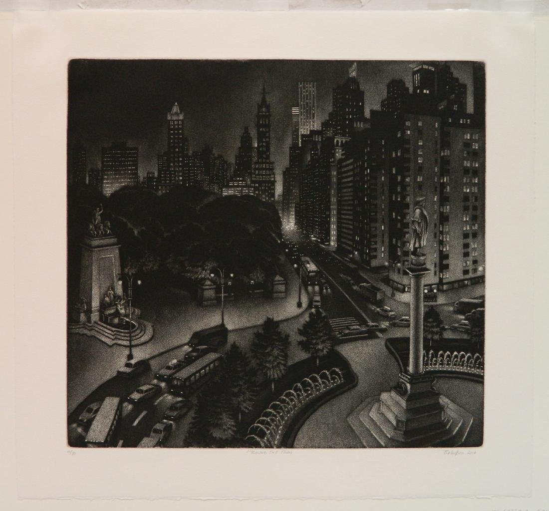 William Behnken etching and aquatint - 2