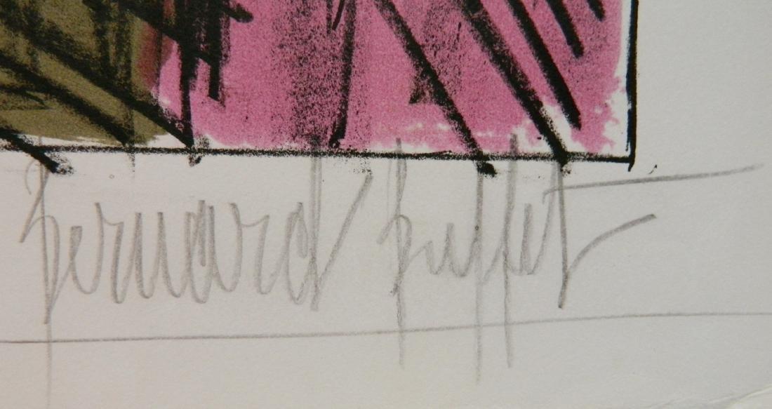 Bernard Buffet lithograph - 3