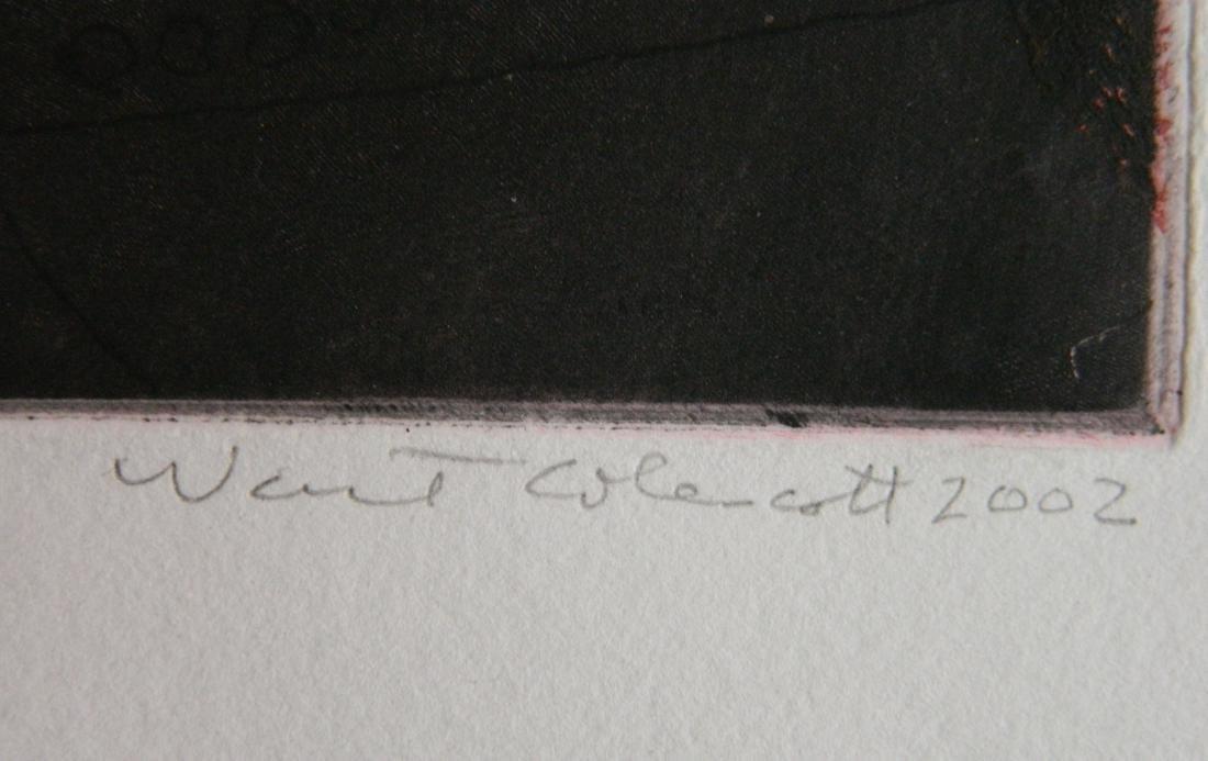 Warrington Colescott etching - 3