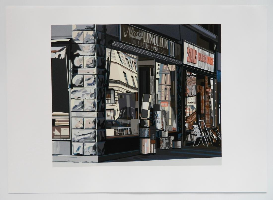 Richard Estes silkscreen - 2
