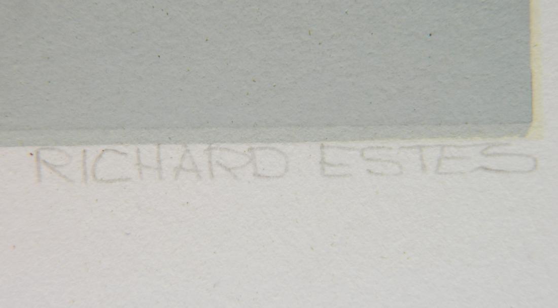 Richard Estes silkscreen - 3