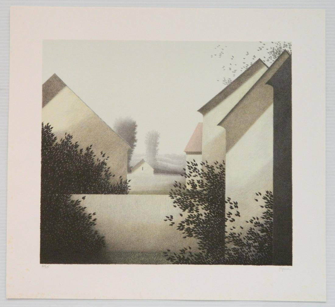 Robert Kipniss lithograph - 2