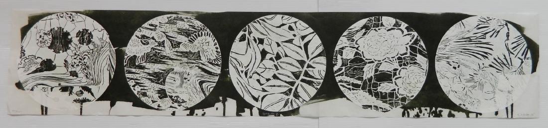 Judy Pfaff woodcut - 2