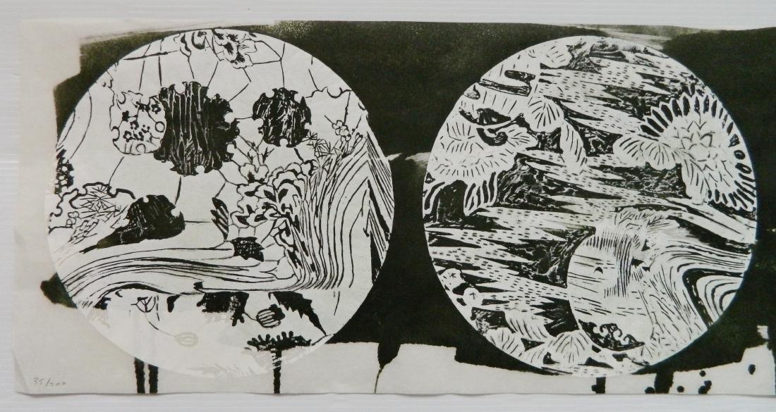 Judy Pfaff woodcut - 3