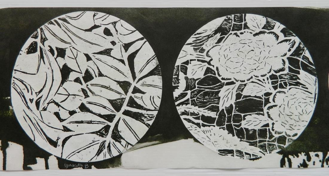 Judy Pfaff woodcut - 4