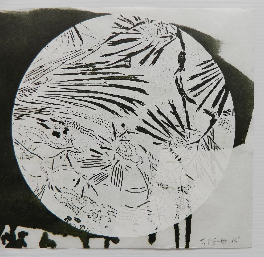 Judy Pfaff woodcut - 5