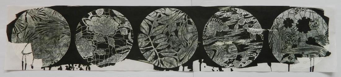 Judy Pfaff woodcut - 7