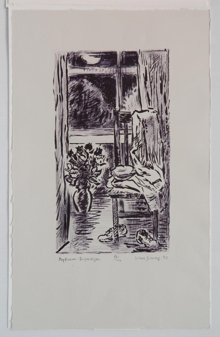 Karl Schrag lithograph - 2