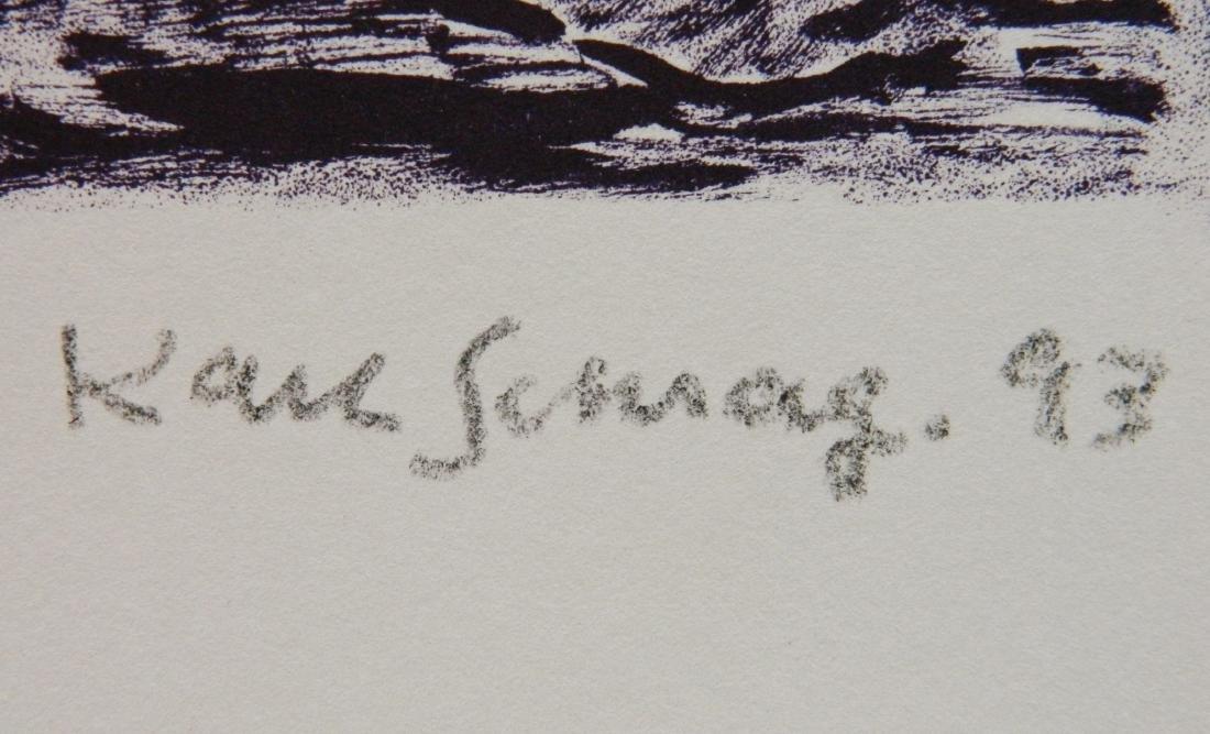 Karl Schrag lithograph - 3