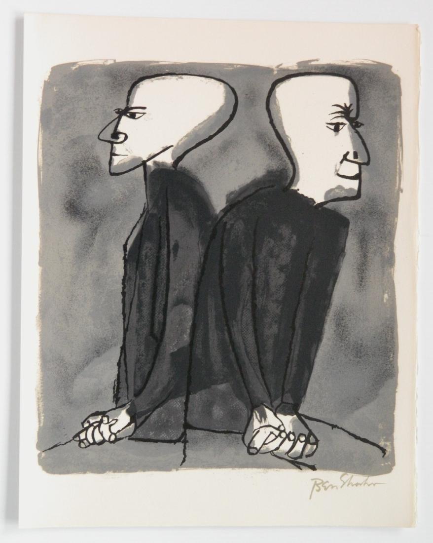 Ben Shahn portfolio of 24 lithographs - 10