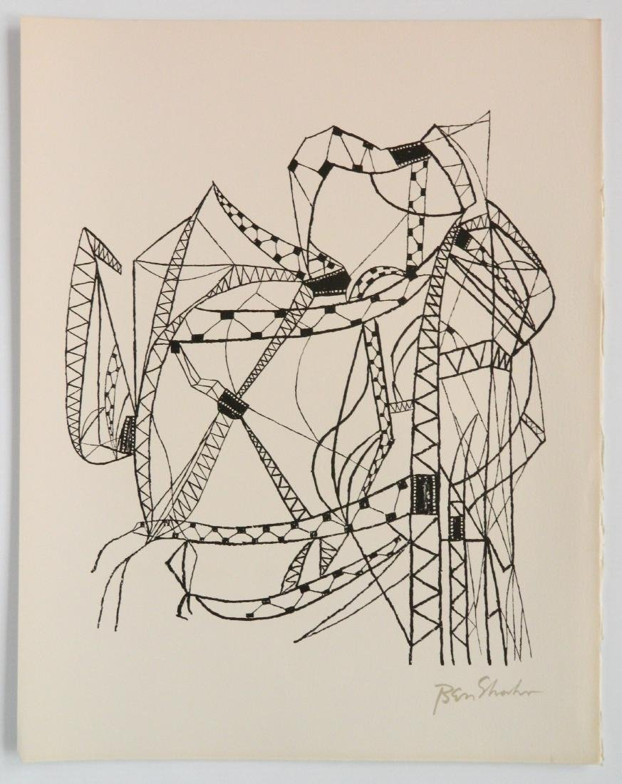 Ben Shahn portfolio of 24 lithographs - 4