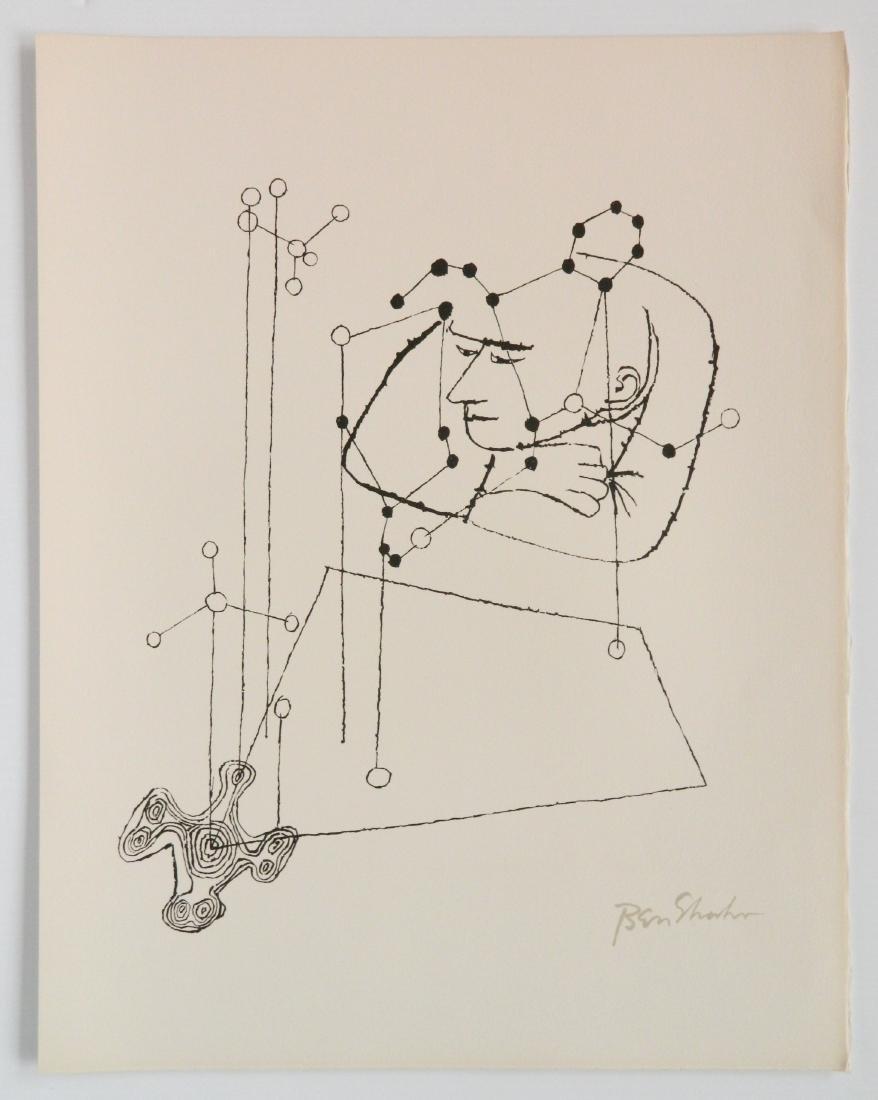 Ben Shahn portfolio of 24 lithographs - 6