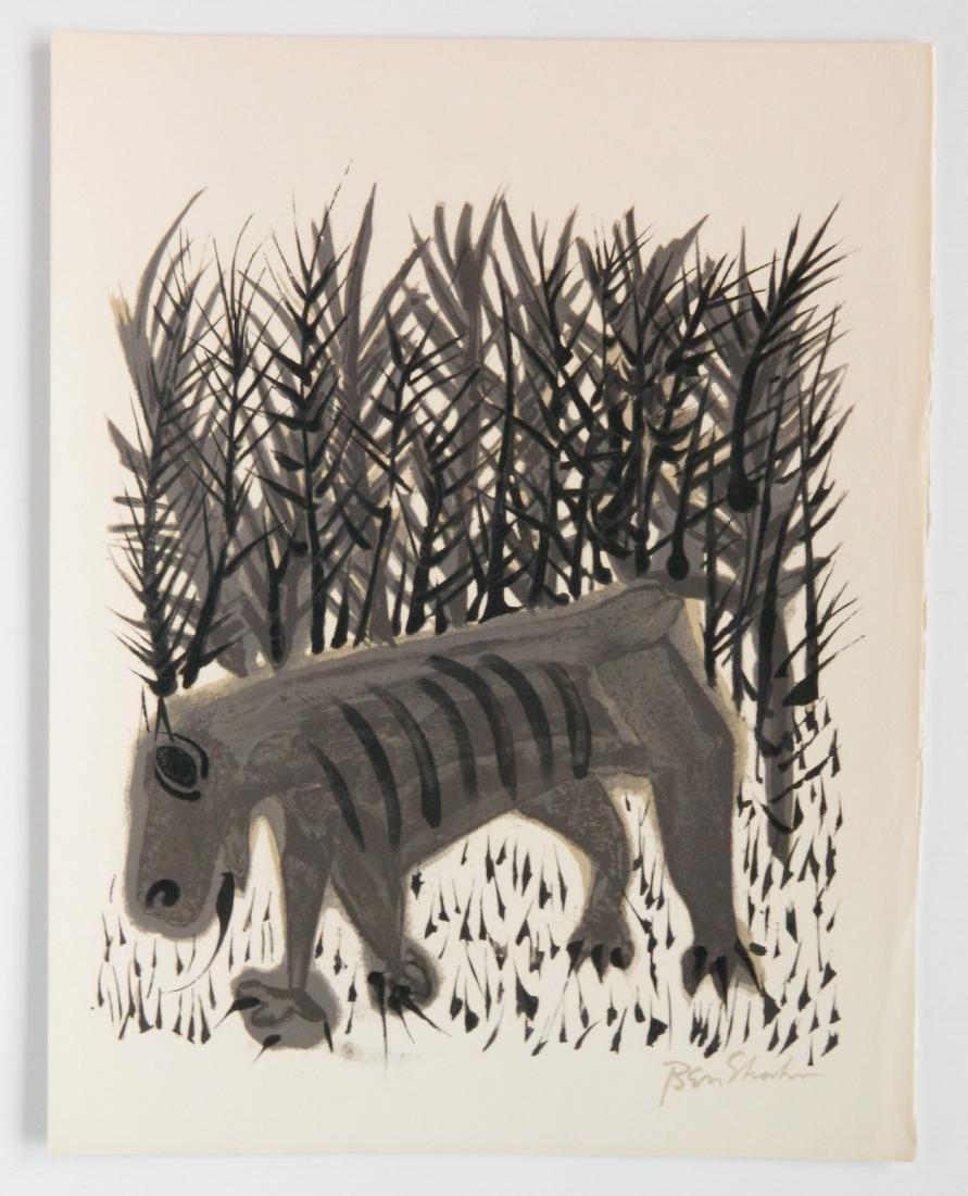 Ben Shahn portfolio of 24 lithographs - 7