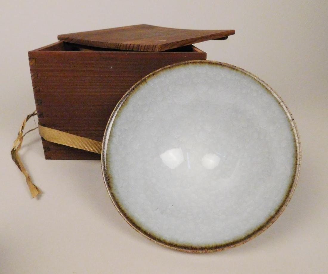 American crackle glaze teabowl