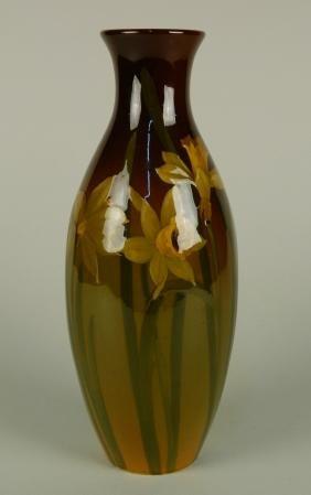Rookwood Standard Pottery Daffodil vase