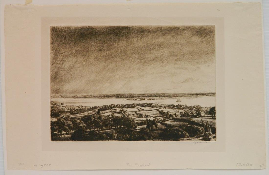 Muirhead Bone etching - 2