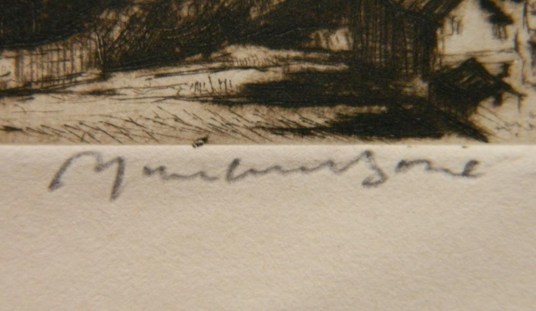Muirhead Bone etching - 3