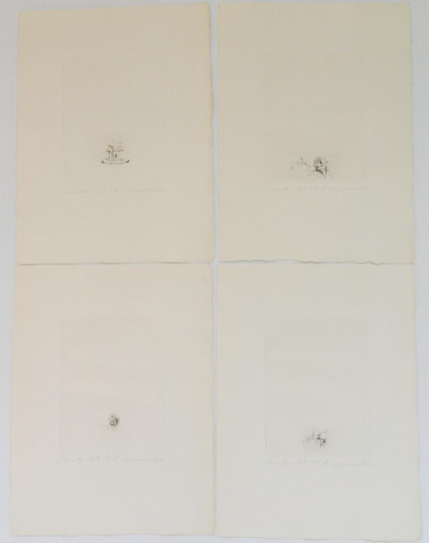 Auguste Brouet etchings - 7