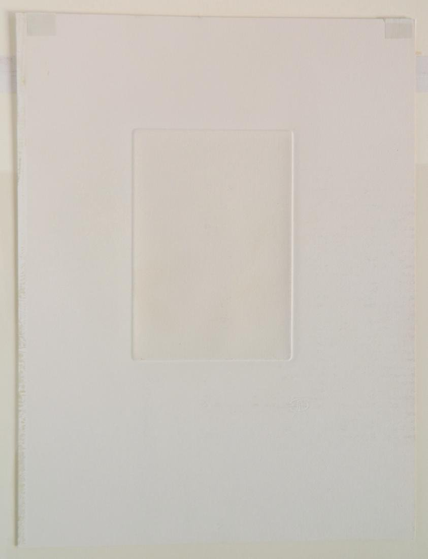 Edgar Chahine etching - 4