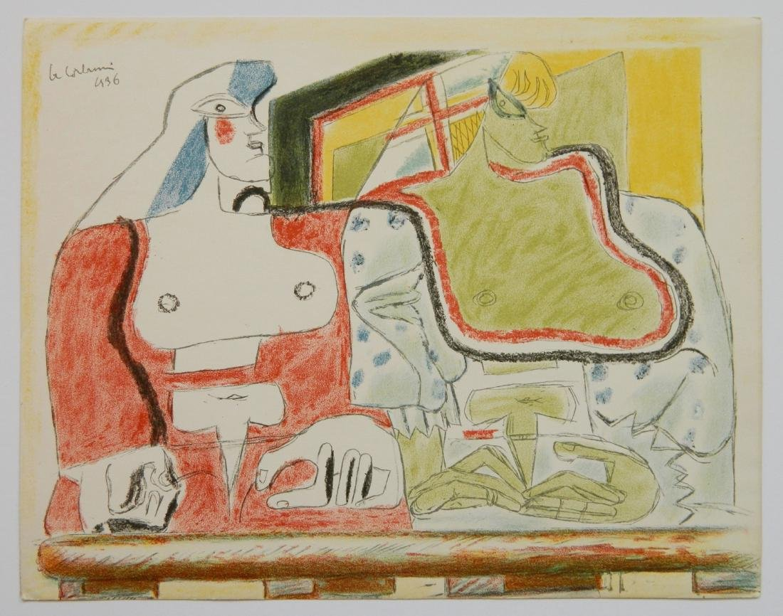 Le Corbusier 4 lithographs - 6