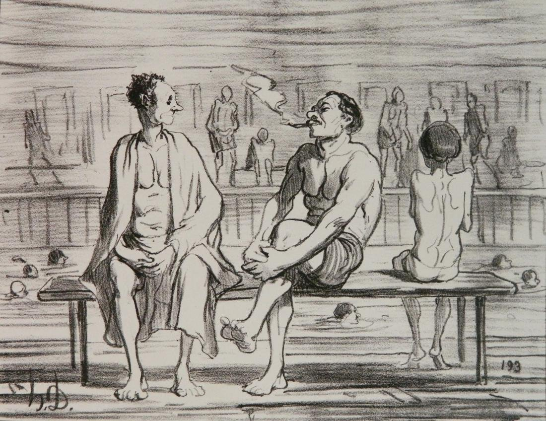 Honore Daumier 3 lithographs - 2