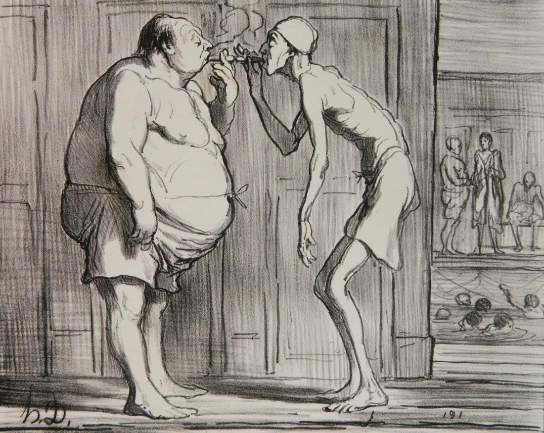 Honore Daumier 3 lithographs - 5