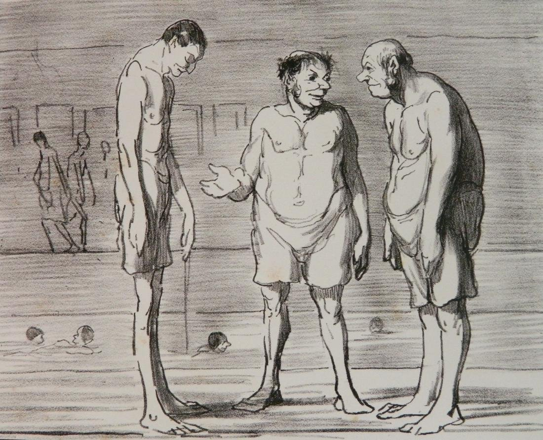 Honore Daumier 3 lithographs - 8