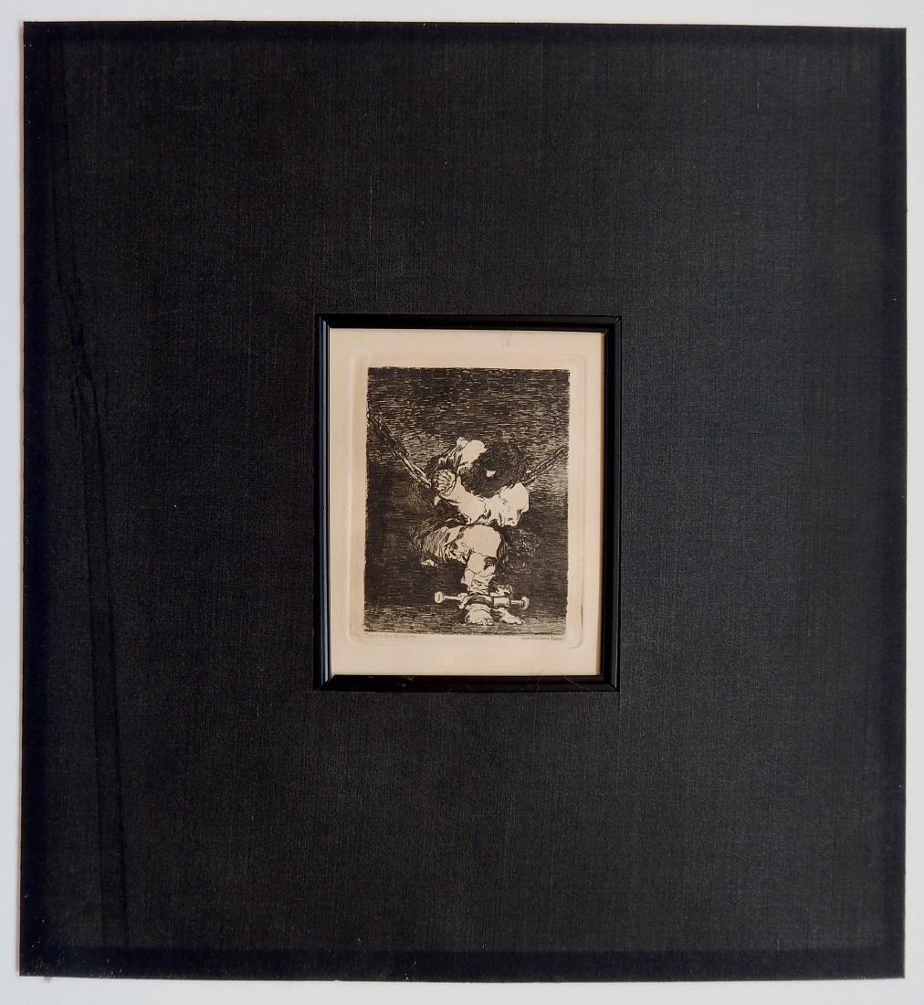 Francisco Goya etching - 2