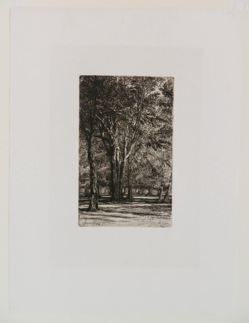Francis Seymour Haden 2 etchings - 7