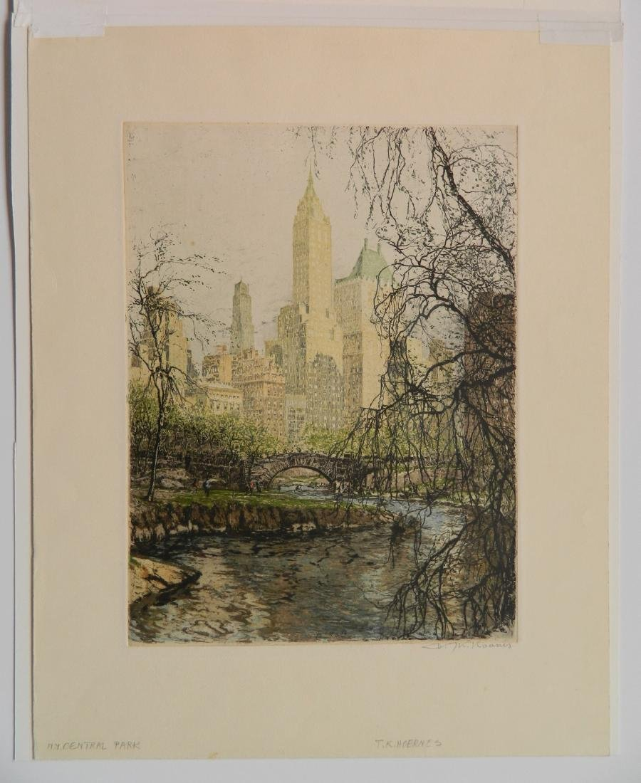 Tanna Kasimir-Hoernes 2 etching and aquatint - 2