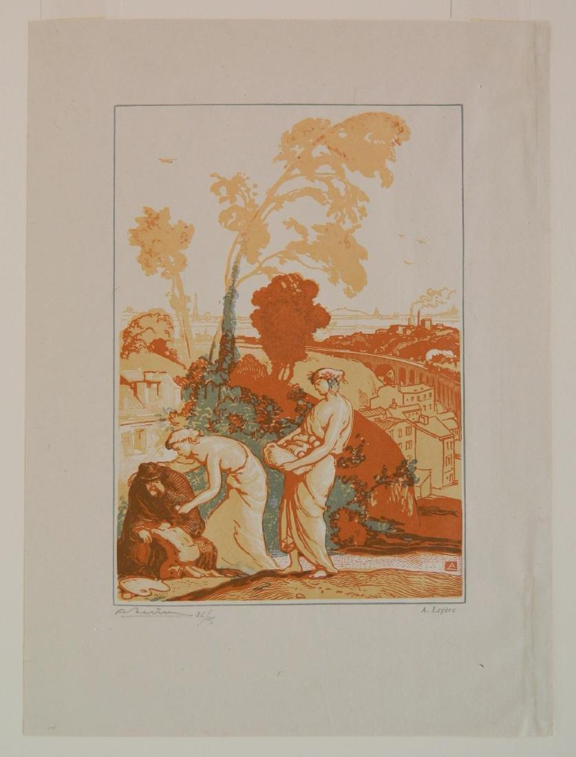 Auguste Lepere wood engraving - 2