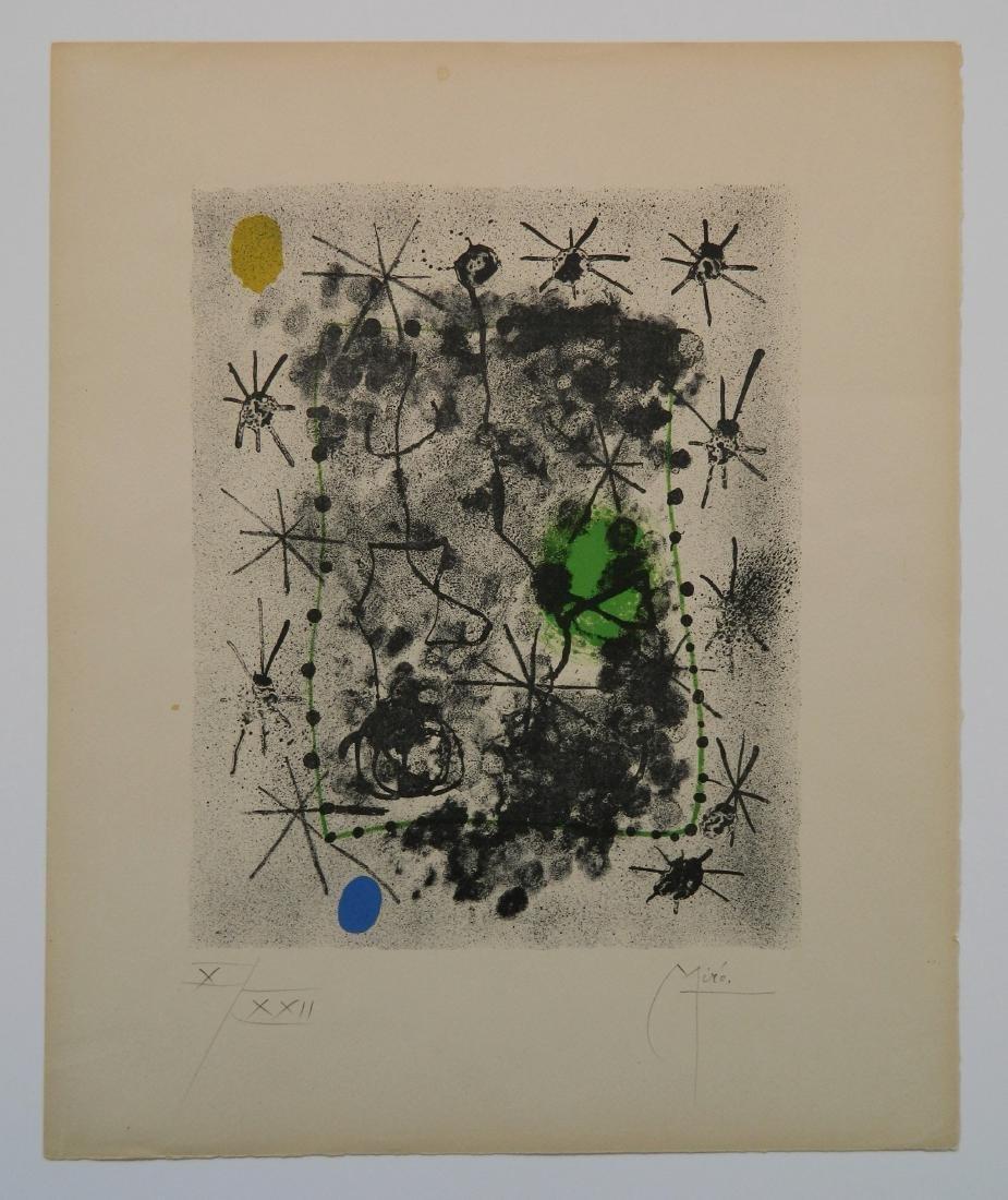 Joan Miro lithograph - 2