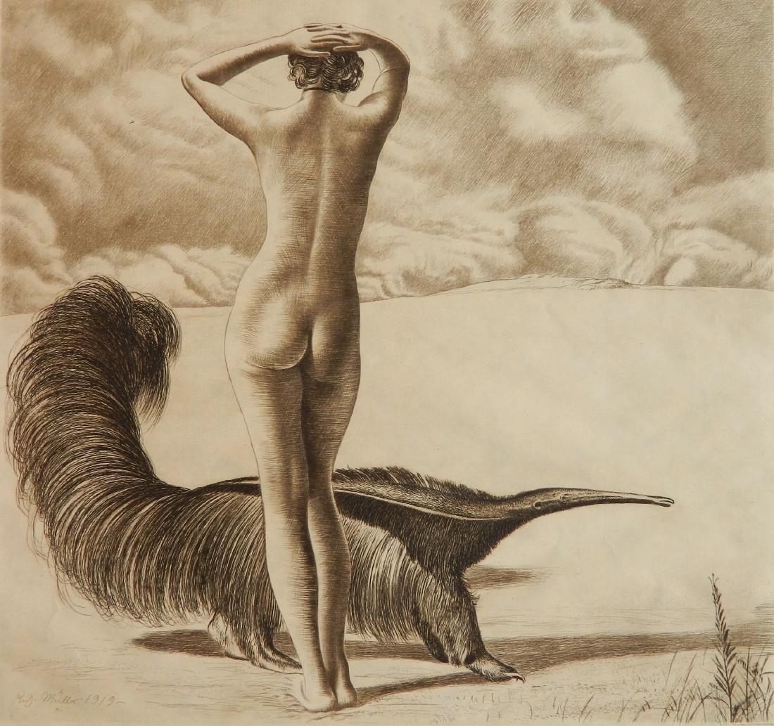 Richard Muller etching
