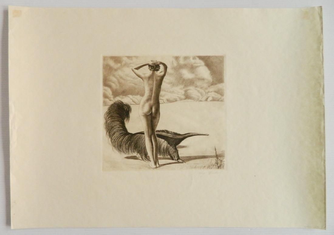 Richard Muller etching - 2