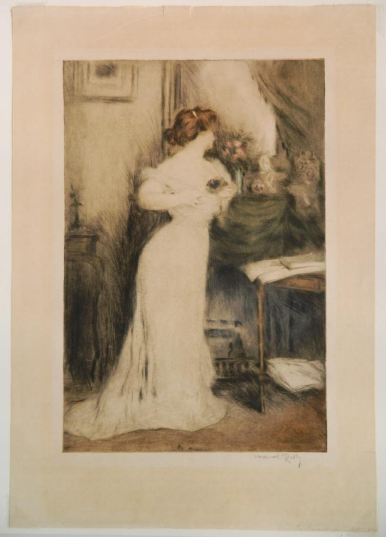 Manuel Robbe etching - 2