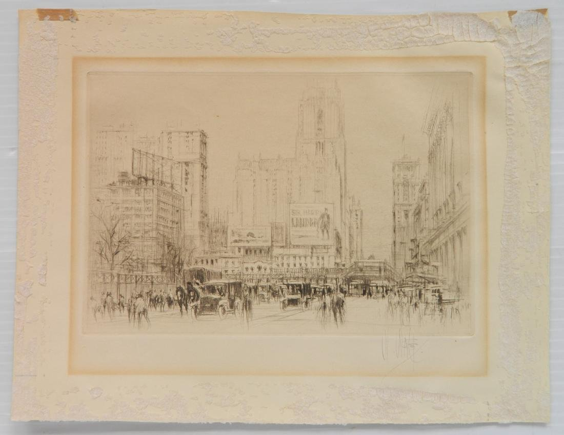 William Walcot etching - 2
