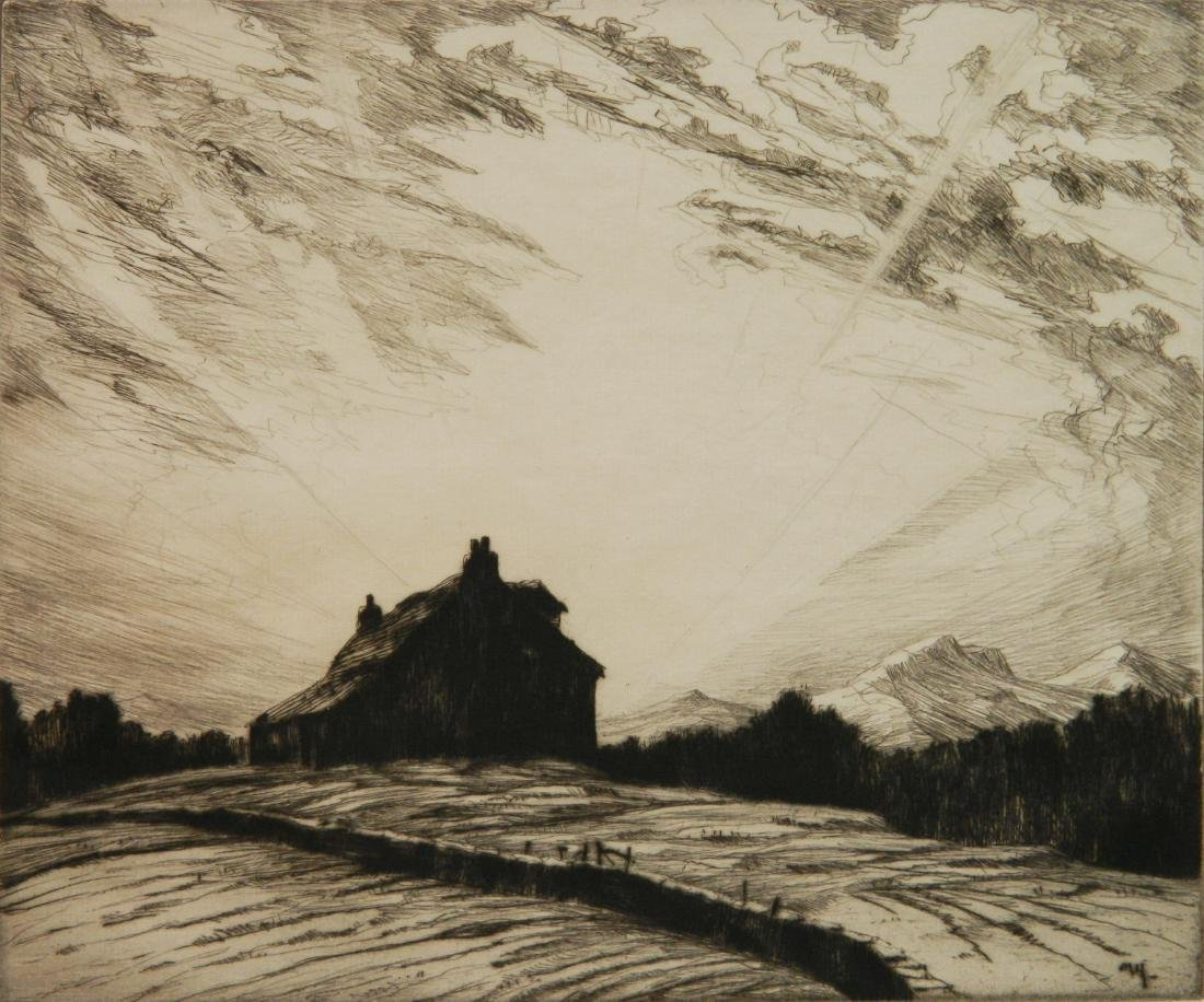 2 American etchings - 5