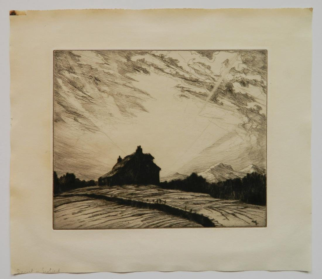2 American etchings - 6