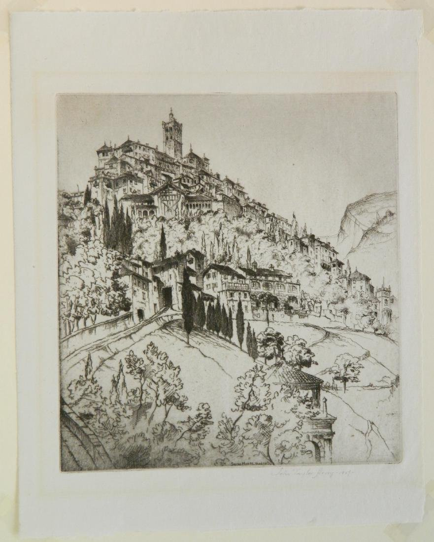 John Taylor Arms etching - 2