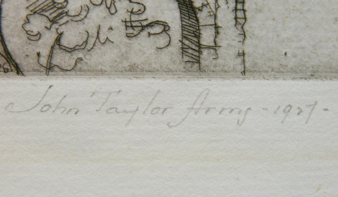 John Taylor Arms etching - 3