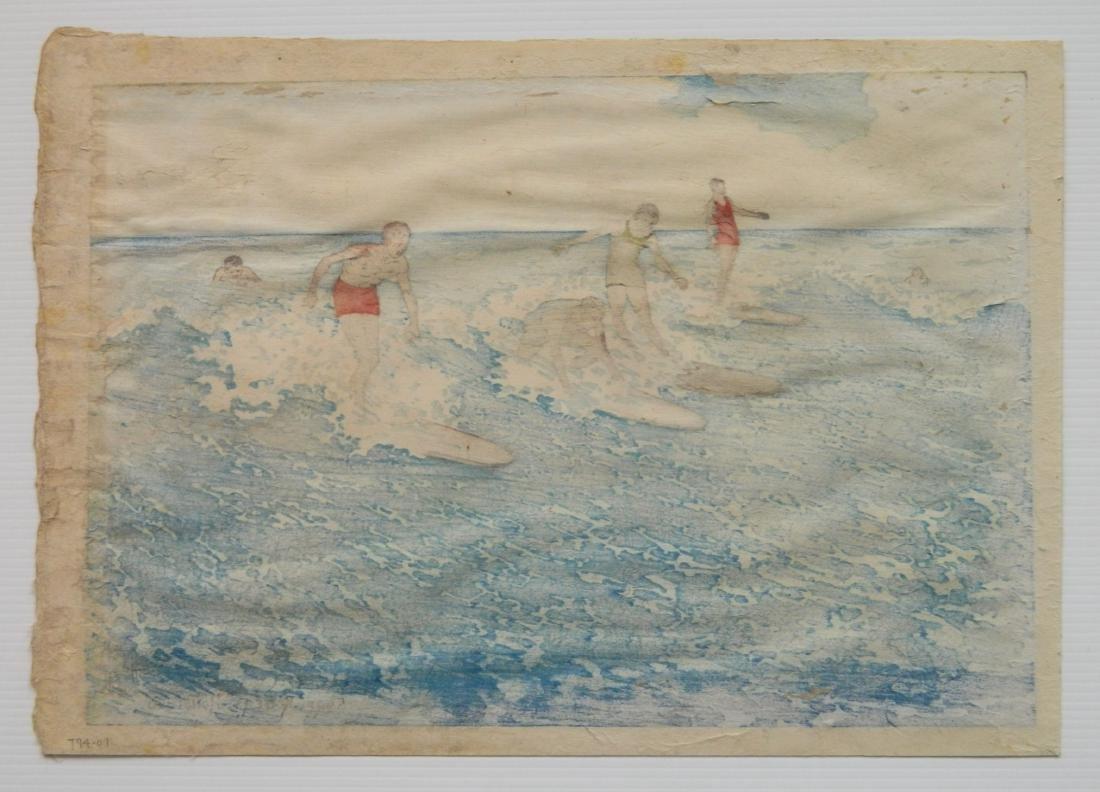 Charles W. Bartlett woodcut - 3