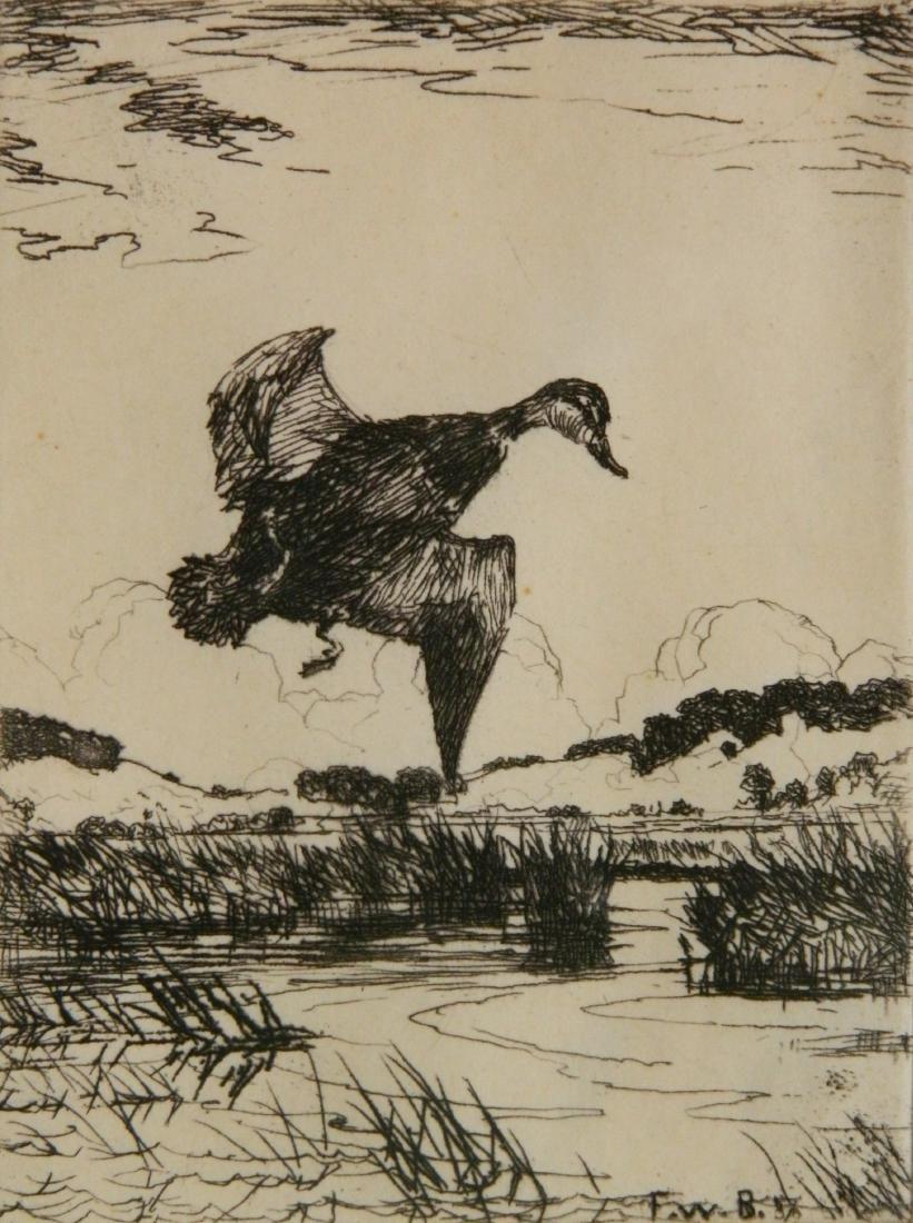 Frank Weston Benson etching