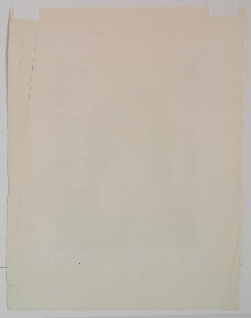 Emil Bistram lithograph - 4